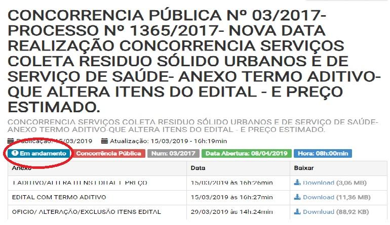 """Empresa da """"Família Locanty"""" vence licitação do lixo em Itatiaia"""