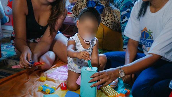 Criança Feliz abraça os pequenos em situação de risco em Magé