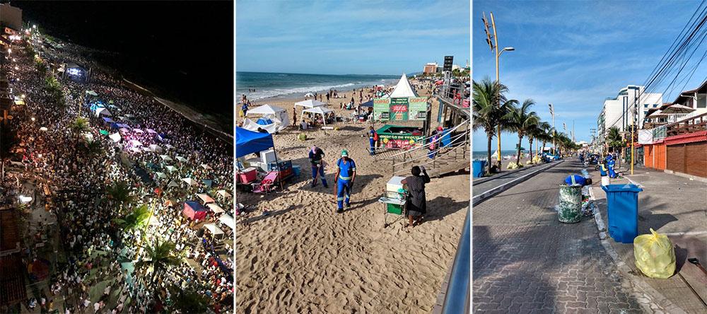 Precariedade no serviço de coleta de lixo suja a imagem das cidades praianas: queixas são maiores em Cabo Frio