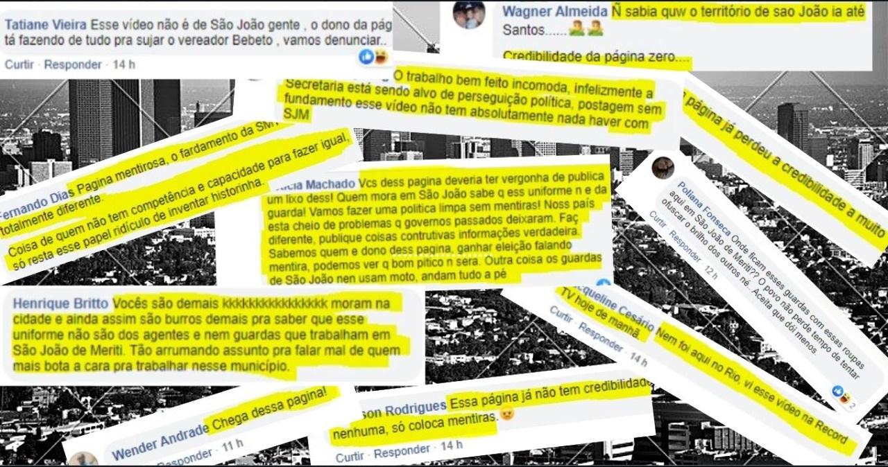 Meriti repudia propagação de noticias falsas sobre a guarda da cidade, com uso de imagens de agentes de um município da Bahia