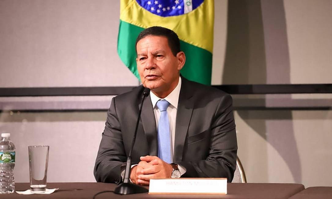 Mourão diz que Brasil tem que ser solução, não problema