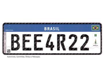 Novas placas de veículos serão obrigatórias a partir de 31 de janeiro