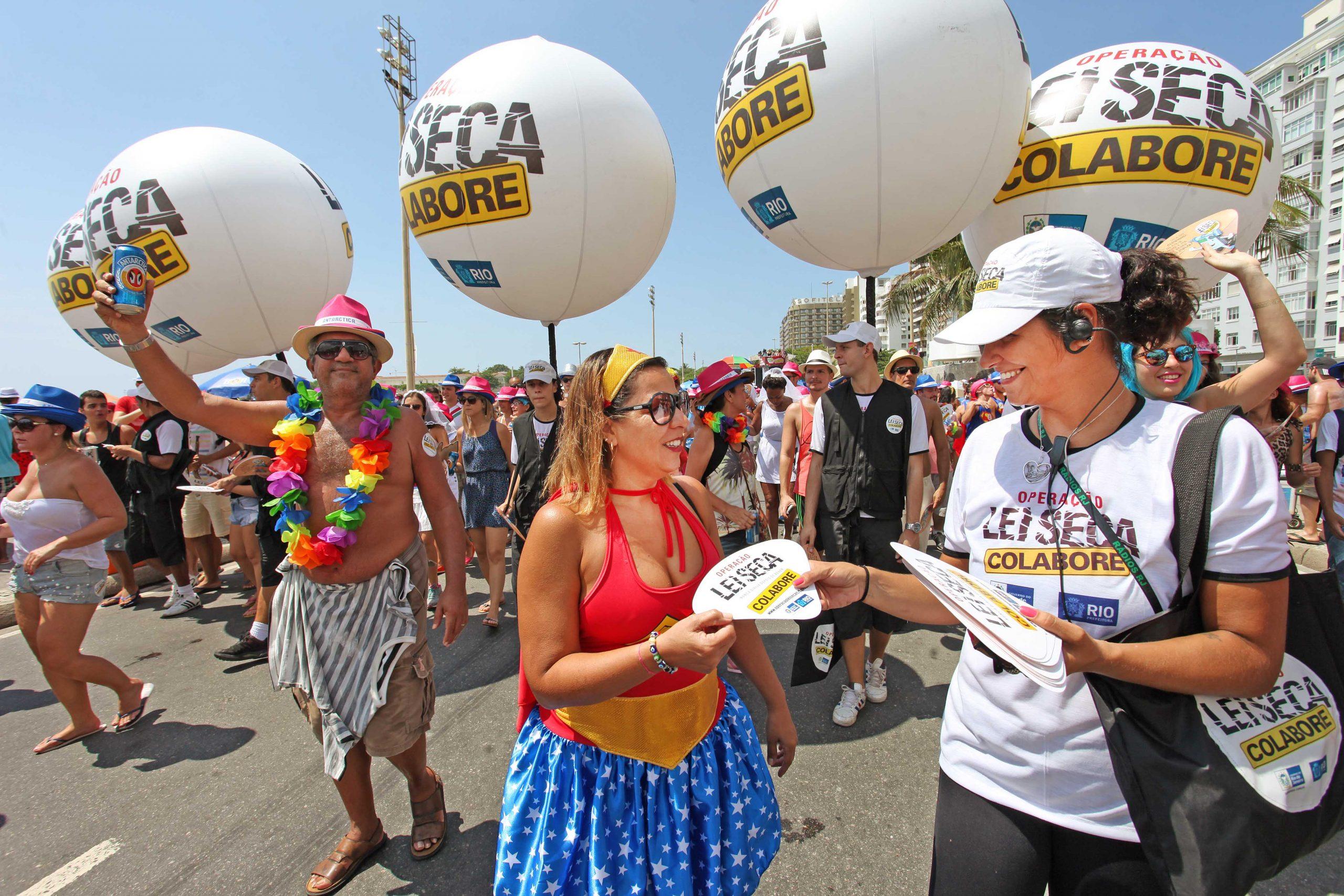 Operação Lei Seca reforça ações durante o Carnaval