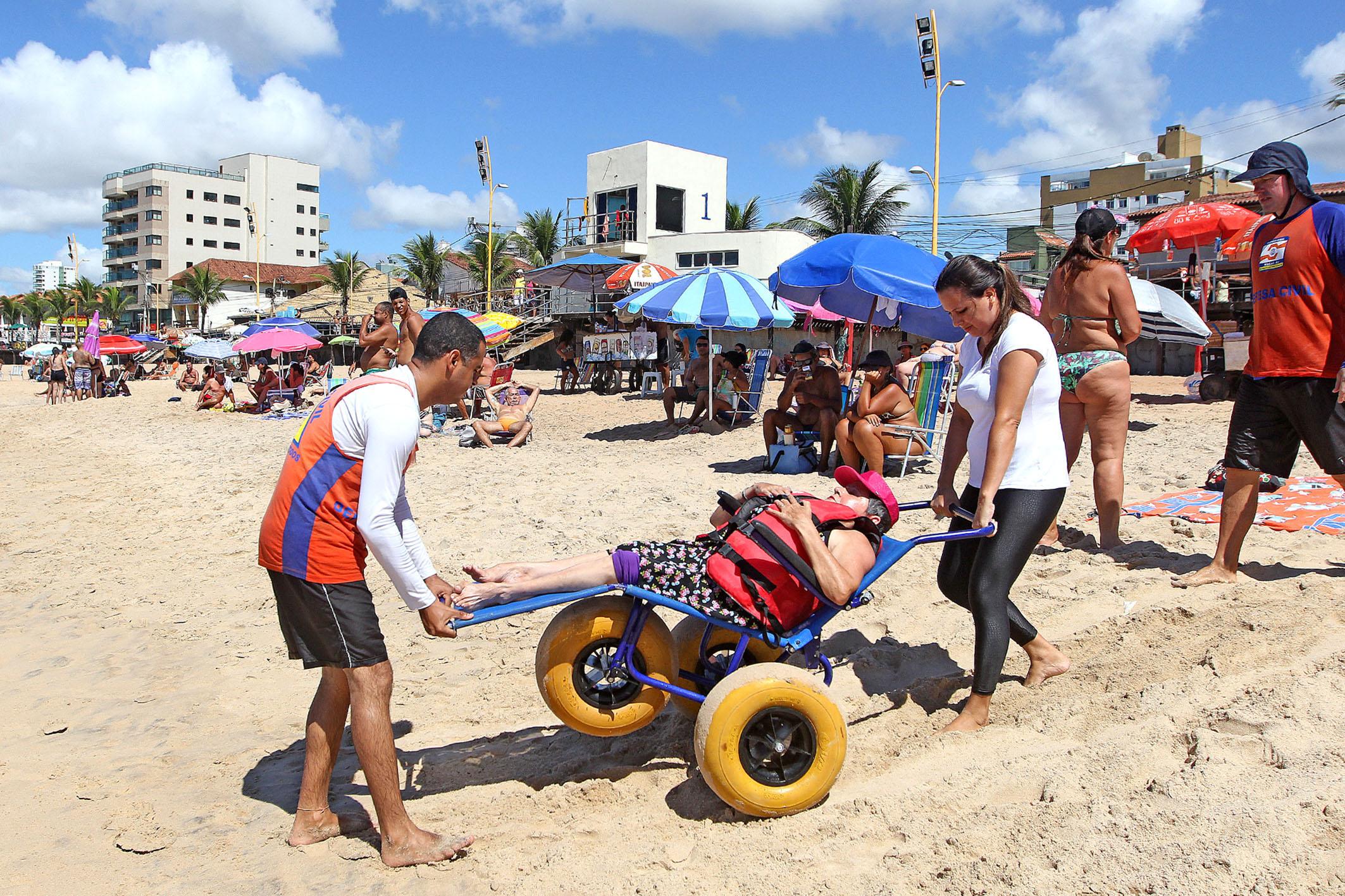Macaé: 'Praia para Todos' terá recesso no Carnaval