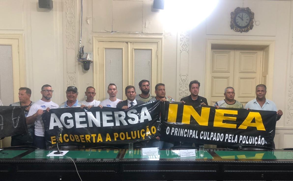 CPI da Prolagos constata crime ambiental na Lagoa de Araruama e Inea é responsabilizado em manifestação
