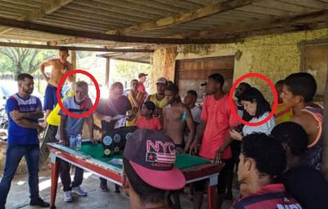 Campanha eleitoral já começou em Japeri: pré candidatos visitam comunidades sem máscara, declarada de uso obrigatório no estado