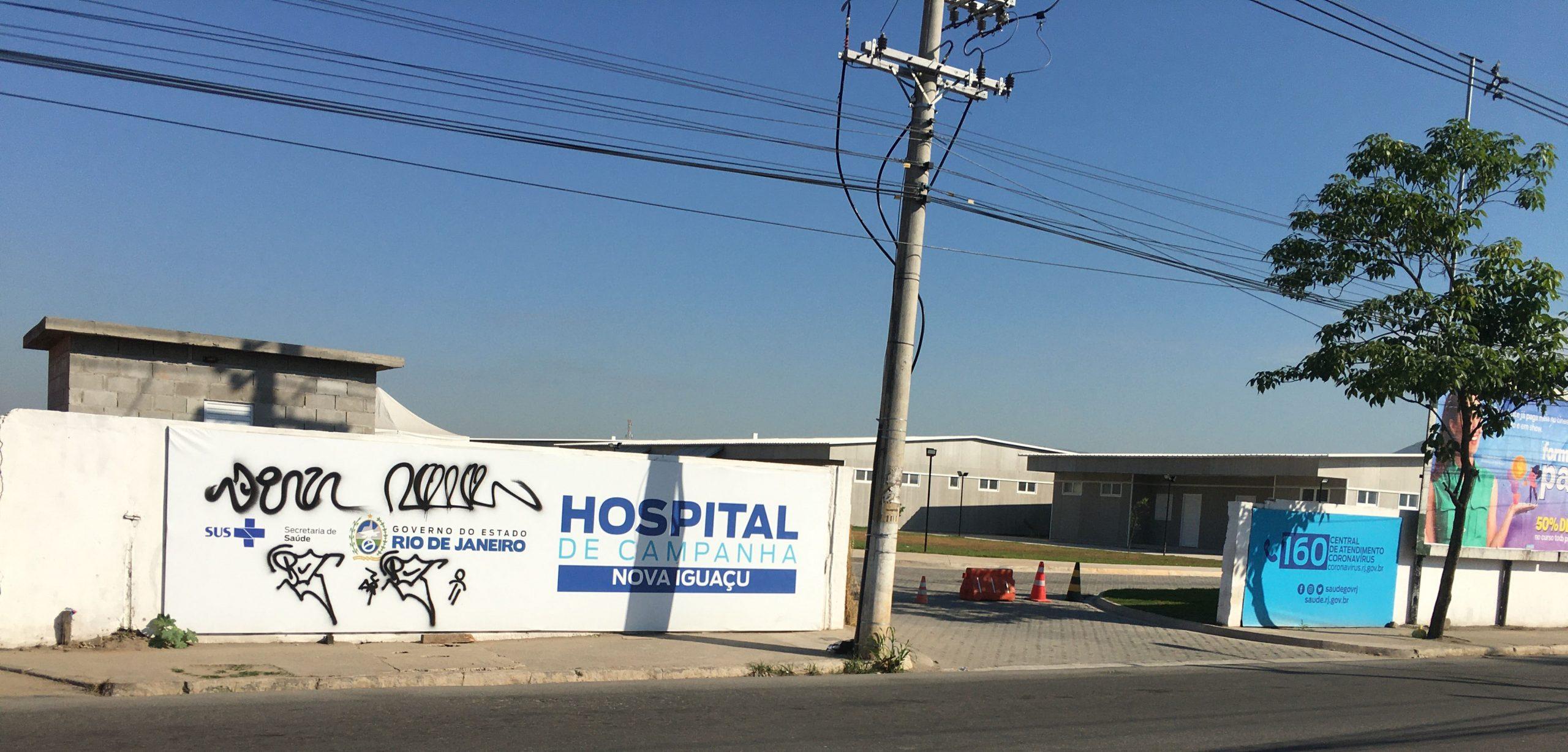 Hospital de Campanha de Nova Iguaçu vai ser fechado sem nunca ter funcionado e fica no ar uma pergunta: Quem arcará com o prejuízo?