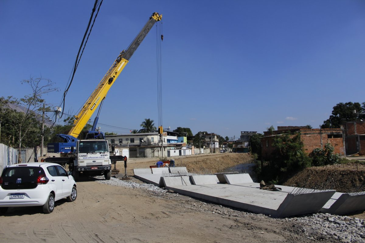 Nova Iguaçu:  iniciada nova etapa de canalização do Rio Botas
