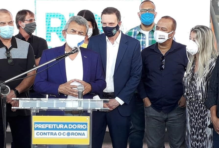 Hospital de Meriti recebe mais equipamentos para reforçar tratamento contra a covid-19: oito respiradores foram doados pela Prefeitura do Rio