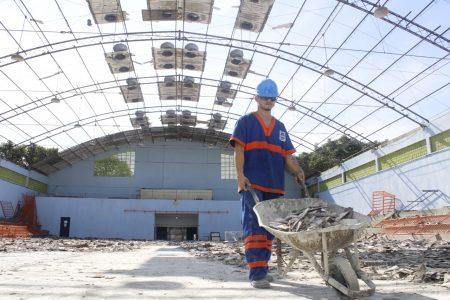 Ginásio da Vila Olímpica de Nova Iguaçu será todo revitalizado