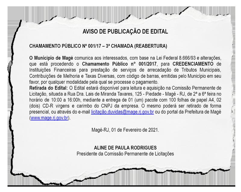 Bancos vão passar a receber tributos municipais de Magé