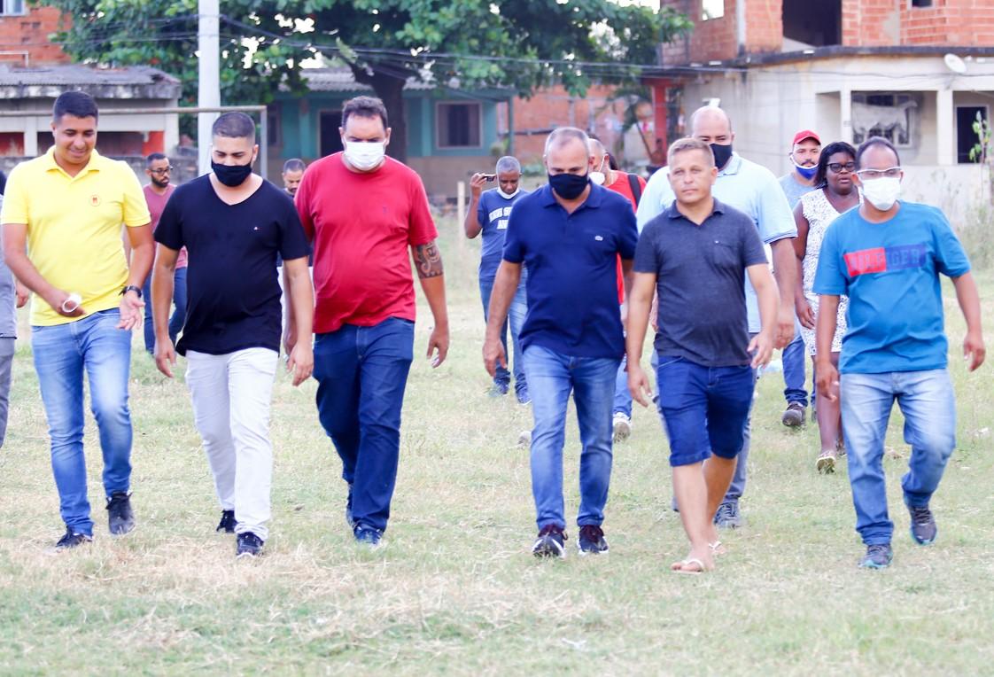 Prefeito de Belford Roxo anuncia obras para mais quatro bairros carentes: Mortadores do Vale das Mangueiras, Maringá, Roseiral e Jardim do Ipê serão os beneficiados