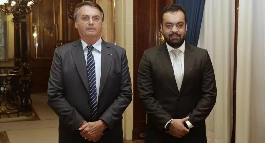 Claudio Castro recebe visita de Bolsonaro quatro dias após posse como governador do Rio