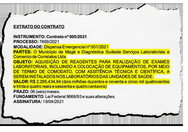 Pressão por compras em fornecedores indicados teria sido responsável pela saída de secretária de Saúde em Magé