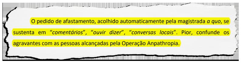 """Em recurso ao TJ defesa do prefeito afastado em Itatiaia afirma que pedido do MP à Justiça foi baseado no """"ouvir dizer"""""""