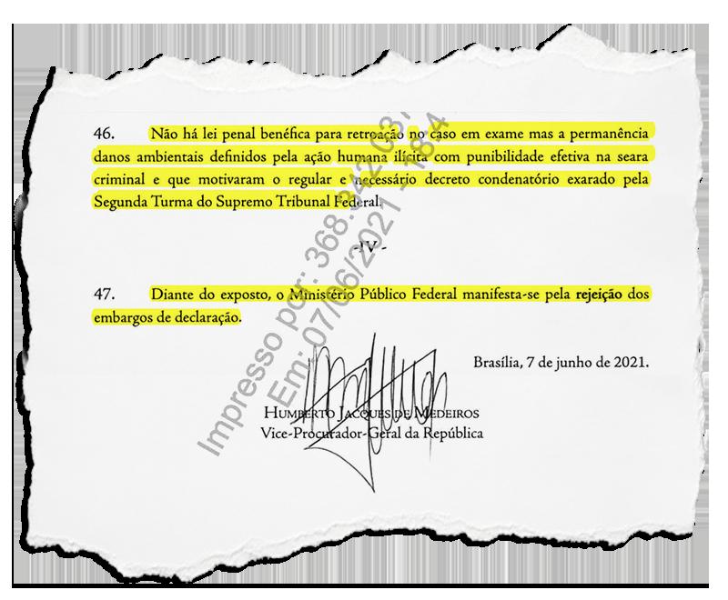 PGR opina contra recurso do prefeito de Caxias e STF deverá decidir por cumprimento de sentença ainda esta semana