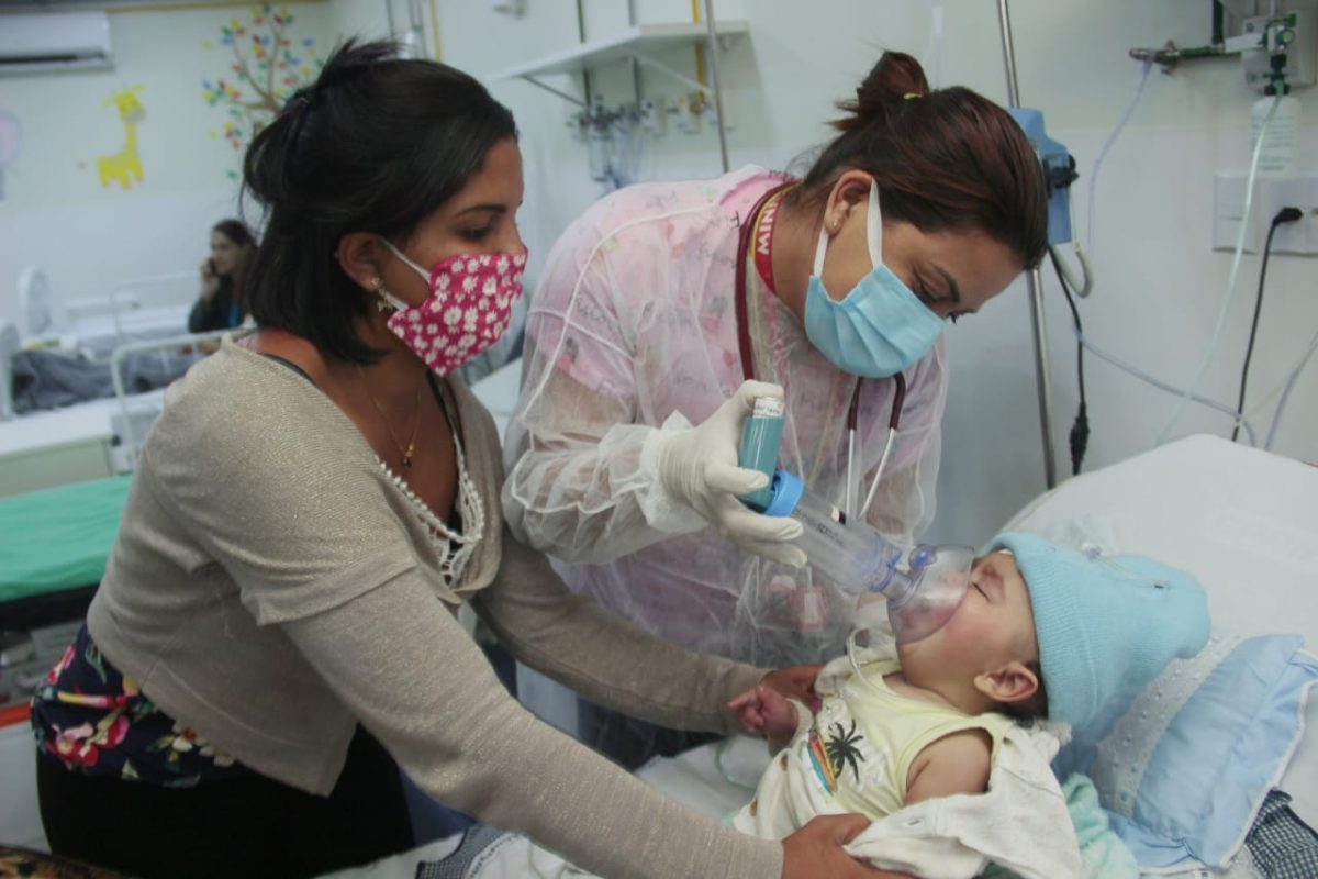 Hospital Geral de Nova Iguaçu alerta para o aumento de casos de doenças respiratórias: Sintomas podem ser confundidos com os da Covid-19