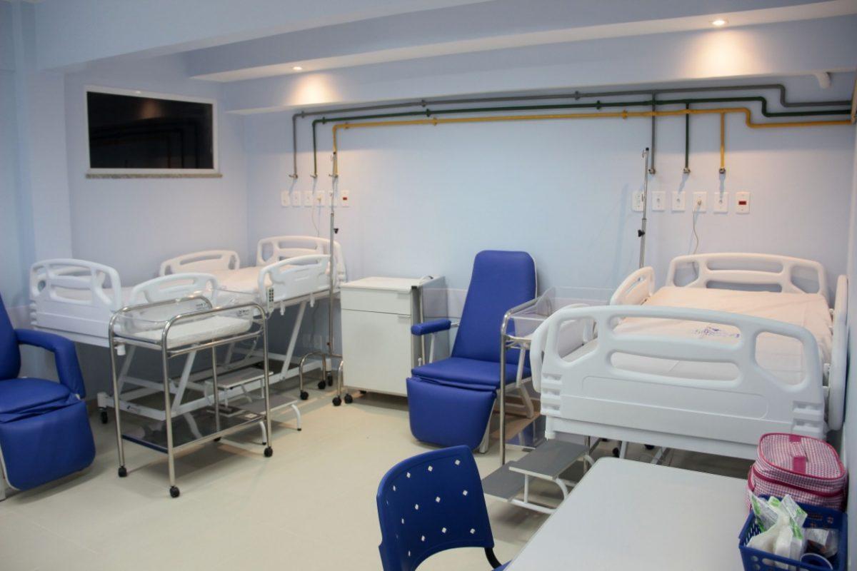 Maternidade Mariana Bulhões tem mais uma enfermaria reformada