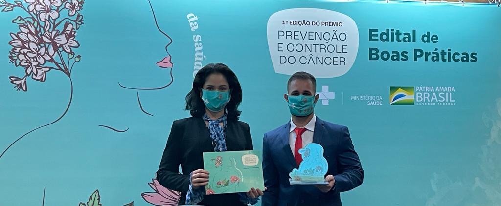 Meriti é premiado por projeto de prevenção ao câncer de mama, voltado para melhoria das condições de pessoas em situação de vulnerabilidade social