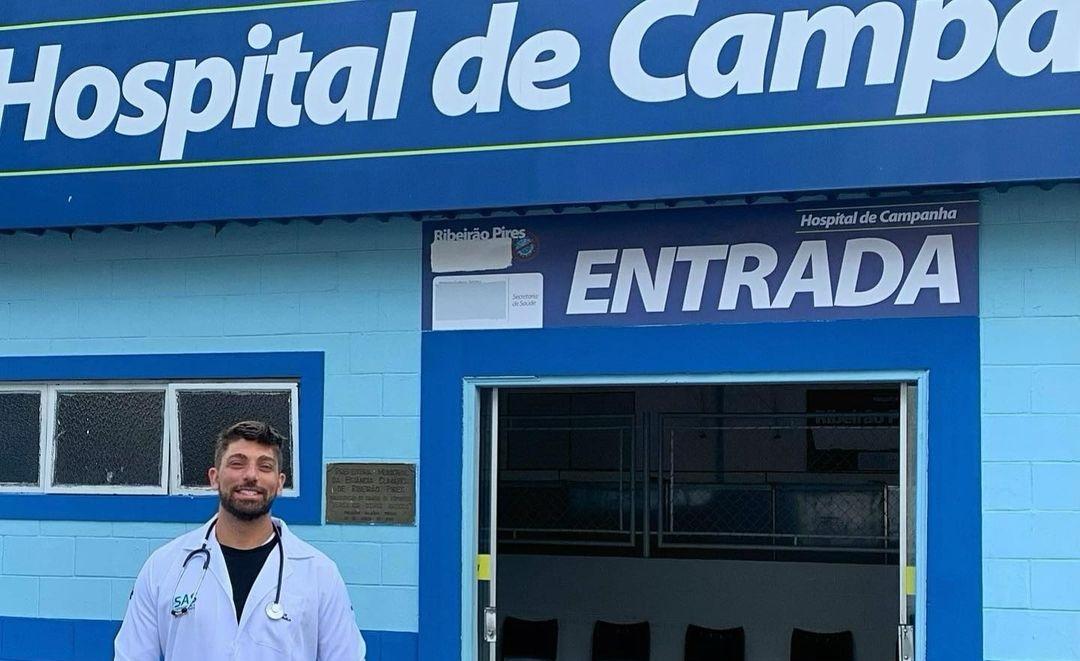 Médico conta como o 'kit covid' afetou a administração de hospital de campanha no Estado de São Paulo