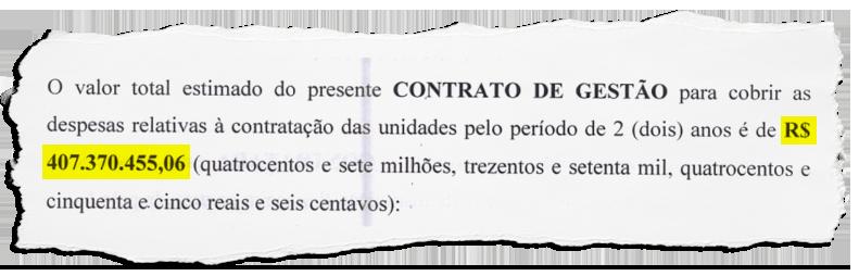 Contrato de mais de R$ 400 milhões e nome pomposo de OS não garantem direitos a demitidos do Hospital Getúlio Vargas
