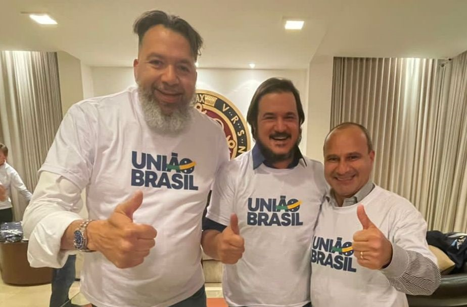 Waguinho é confirmado como presidente estadual do União Brasil, partido formado pela fusão do DEM com o PSL